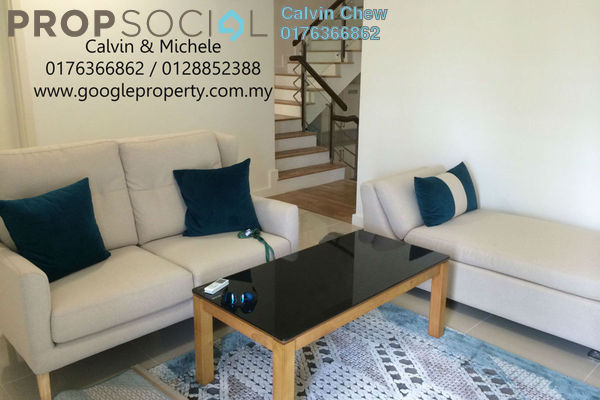 For Rent Terrace at Symphony Hills, Cyberjaya Freehold Fully Furnished 3R/4B 5.2k