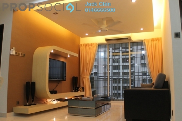 For Rent Condominium at Ken Damansara II, Petaling Jaya Freehold Fully Furnished 3R/2B 2.38k