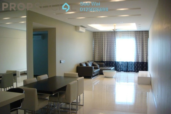 For Rent Condominium at Suasana Sentral Loft, KL Sentral Freehold Fully Furnished 2R/2B 5.5k