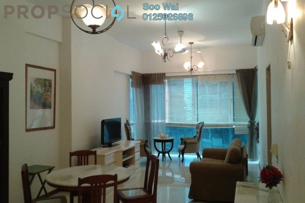 For Rent Condominium at Suasana Sentral Loft, KL Sentral Freehold Fully Furnished 1R/1B 3.5k