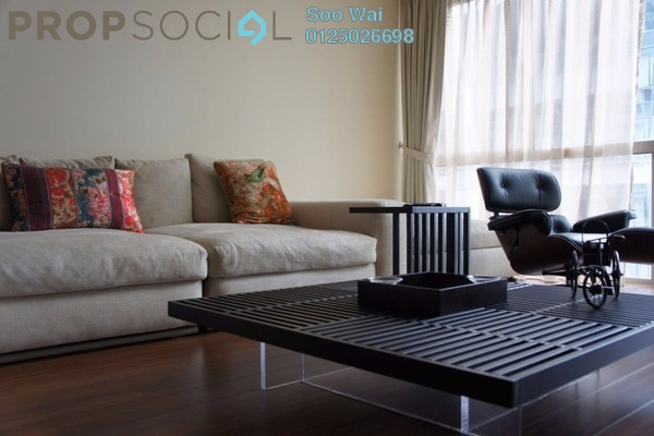 For Rent Condominium at Suasana Sentral Loft, KL Sentral Freehold Fully Furnished 2R/2B 5.2k