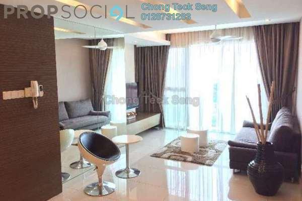 For Rent Serviced Residence at Solaris Dutamas, Dutamas Freehold Fully Furnished 2R/2B 4.2k