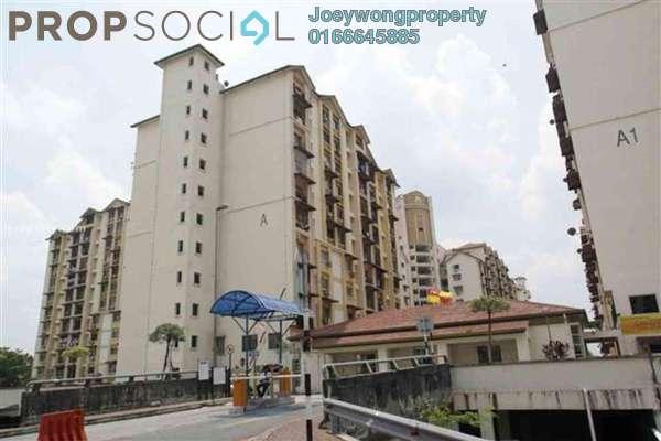 For Rent Condominium at Vista Lavender, Bandar Kinrara Leasehold Semi Furnished 3R/2B 1.1k