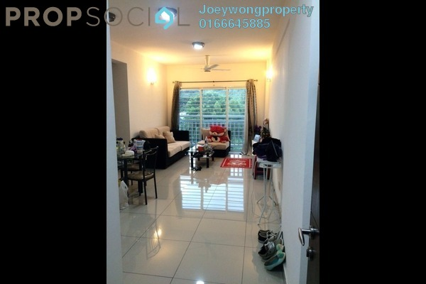For Sale Condominium at Hijauan Puteri, Bandar Puteri Puchong Freehold Semi Furnished 3R/2B 479k
