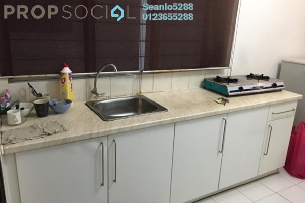 For Rent Serviced Residence at Casa Tiara, Subang Jaya Freehold Semi Furnished 0R/1B 1.5k