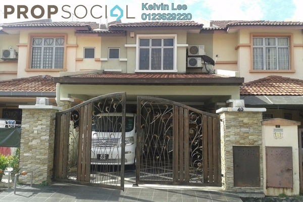 For Sale Terrace at Taman Bukit Cheras, Cheras Freehold Semi Furnished 5R/3B 1000k
