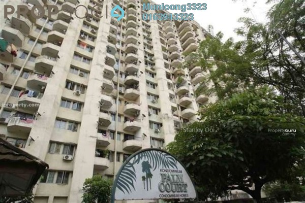 For Rent Condominium at Palm Court, Brickfields Freehold Fully Furnished 3R/2B 2.5k