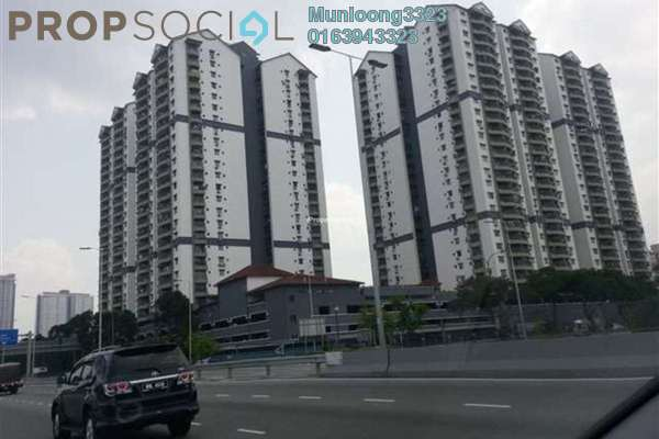 For Rent Condominium at Pandan Villa, Pandan Indah Leasehold Fully Furnished 3R/2B 1.7k