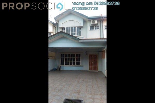 For Sale Terrace at Taman Bukit Mewah, Kajang Freehold Semi Furnished 4R/3B 525k