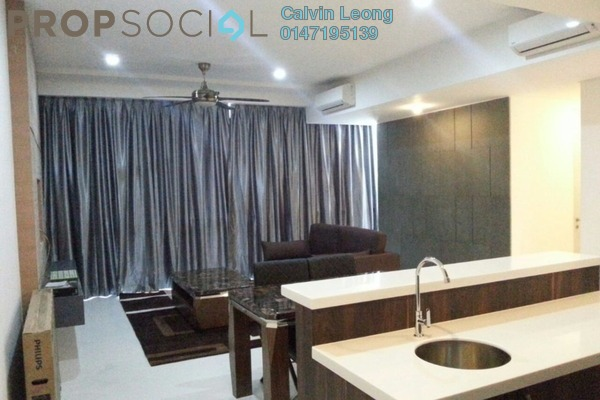 For Sale Condominium at The Capers, Sentul Freehold Semi Furnished 3R/3B 1.2m