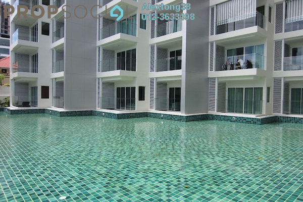 For Rent Condominium at Boulevard Residence, Bandar Utama Leasehold Semi Furnished 3R/2B 2k