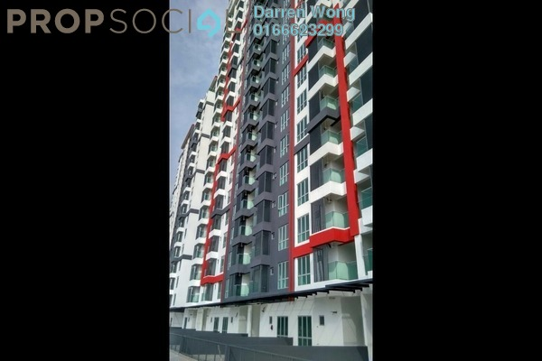 For Sale Serviced Residence at Silk Residence, Bandar Tun Hussein Onn Freehold Unfurnished 3R/2B 493k