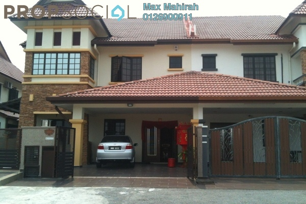 For Sale Semi-Detached at Bandar Nusaputra, Puchong Leasehold Fully Furnished 5R/4B 1.4m