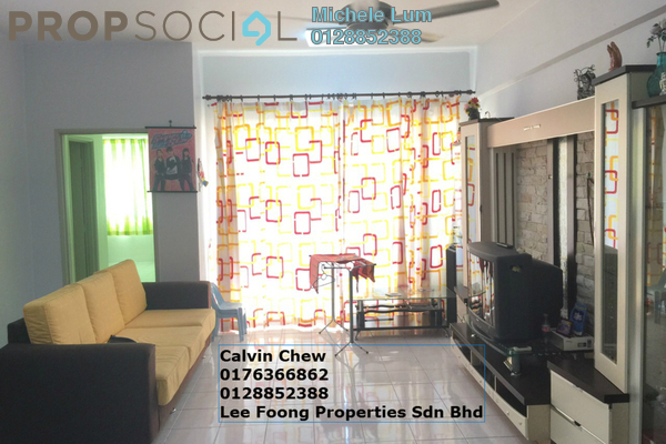 For Sale Condominium at Green Acre Park, Bandar Sungai Long Freehold Semi Furnished 3R/2B 405k