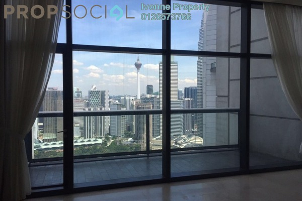 For Sale Condominium at The Troika, KLCC Freehold Semi Furnished 4R/0B 9.5m