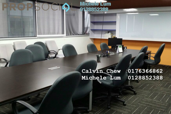 For Rent Office at PJ8, Petaling Jaya Leasehold Semi Furnished 3R/2B 13k