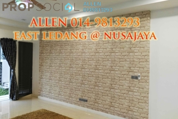 For Sale Semi-Detached at East Ledang, Iskandar Puteri (Nusajaya) Freehold Semi Furnished 4R/4B 1.96m