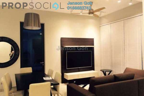 For Rent Condominium at Icon Residence (Mont Kiara), Dutamas Freehold Fully Furnished 2R/2B 5k