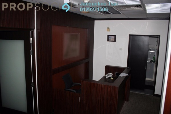 For Sale Office at Wisma UOA I, KLCC Freehold Fully Furnished 3R/2B 1.09m