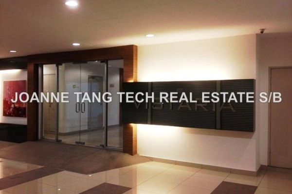 For Sale Condominium at Vistaria Residensi, Cheras Leasehold Fully Furnished 4R/2B 780k
