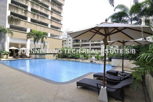 For Rent Condominium at Ceriaan Kiara, Mont Kiara Freehold Semi Furnished 3R/4B 4.5k