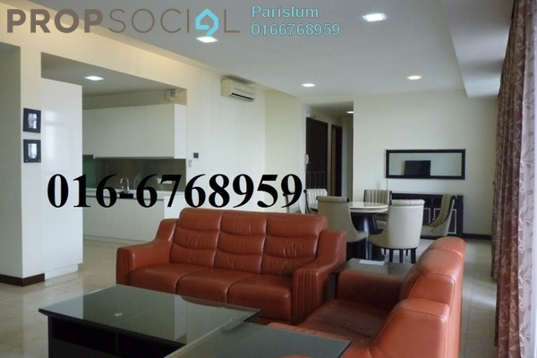 For Rent Condominium at Hampshire Residences, KLCC Freehold Fully Furnished 4R/5B 6.8k
