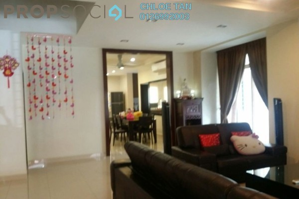 For Sale Terrace at Canal Gardens, Kota Kemuning Freehold Semi Furnished 4R/3B 1.39m