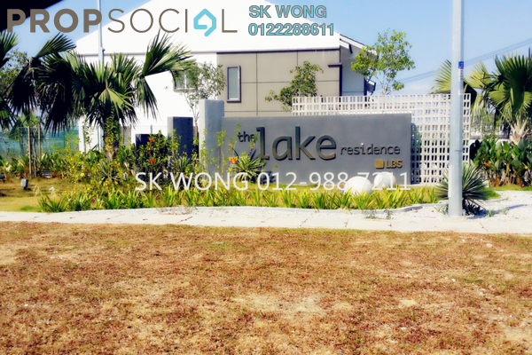 For Sale Townhouse at The Lake Residence, Puchong Leasehold Unfurnished 4R/2B 410k