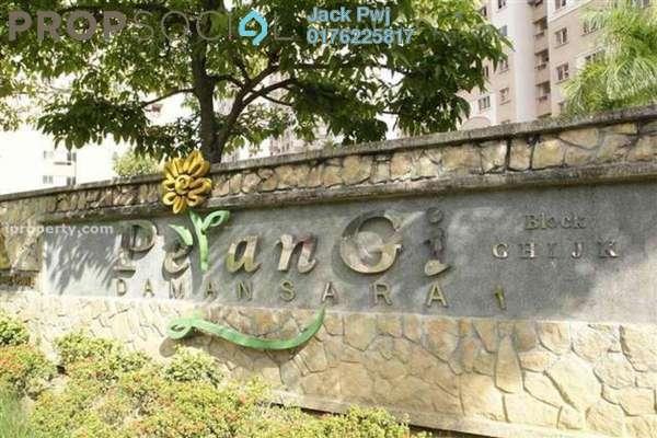 For Rent Condominium at Pelangi Damansara, Bandar Utama Leasehold Semi Furnished 3R/2B 1.4k