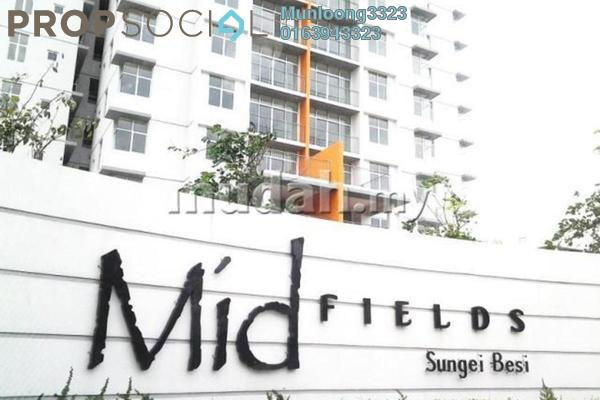 For Rent Condominium at Midfields, Sungai Besi Leasehold Fully Furnished 3R/2B 1.5k