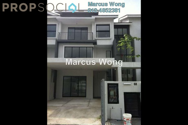 For Sale Terrace at Lake Fields, Sungai Besi Leasehold Semi Furnished 5R/5B 1.28m