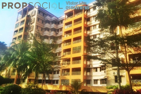 For Rent Condominium at Palmville, Bandar Sunway Leasehold Fully Furnished 3R/3B 3k