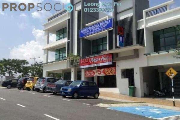 For Rent Shop at Seksyen 2, Bangi Leasehold Semi Furnished 0R/0B 3.6k