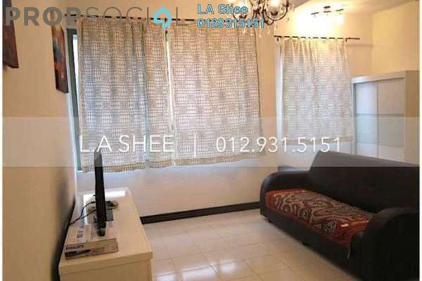 For Rent Serviced Residence at Ritze Perdana 1, Damansara Perdana Leasehold Fully Furnished 1R/1B 1.6k