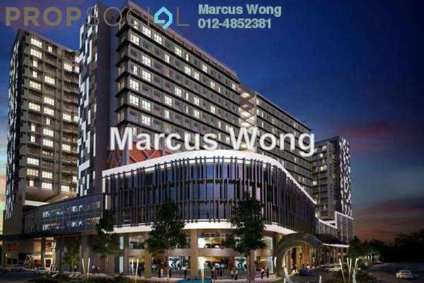 For Sale Serviced Residence at Centrestage, Petaling Jaya Leasehold Semi Furnished 1R/1B 405k