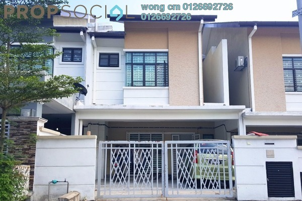 For Sale Terrace at Taman Puncak Saujana, Kajang Freehold Unfurnished 4R/3B 730k