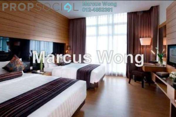 For Sale Serviced Residence at Dua Sentral, Brickfields Freehold Fully Furnished 2R/2B 810k