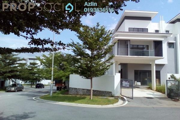 For Rent Semi-Detached at Kayumanis Garden Villa, Kajang Freehold Semi Furnished 6R/6B 3.9k
