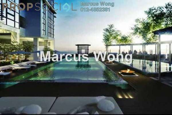 For Sale Serviced Residence at Pacific Star, Petaling Jaya Leasehold Semi Furnished 1R/1B 508k