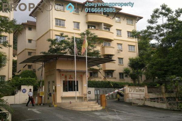 For Rent Condominium at D'Palma Apartment, Pusat Bandar Puchong Freehold Semi Furnished 3R/2B 1.1k