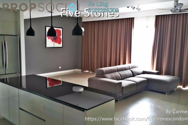 For Sale Condominium at Five Stones, Petaling Jaya Freehold Semi Furnished 4R/4B 1.69m