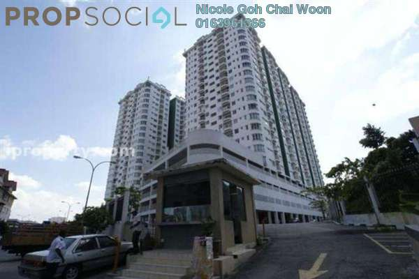 For Rent Condominium at Kepong Central Condominium, Kepong Leasehold Fully Furnished 3R/2B 1.3k
