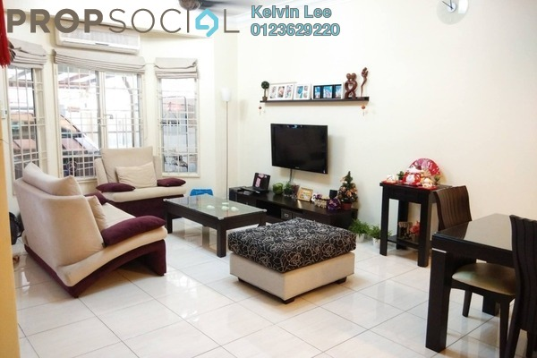 For Sale Terrace at Taman Seri Minang, Cheras South Freehold Semi Furnished 4R/3B 750k