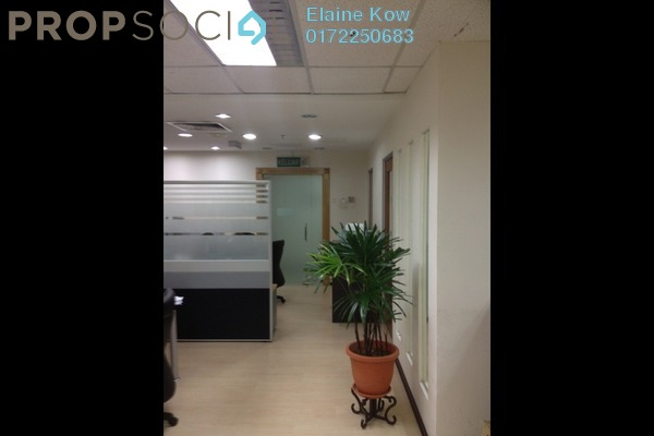 For Rent Office at Wisma UOA II, KLCC Freehold Semi Furnished 0R/0B 5.3k