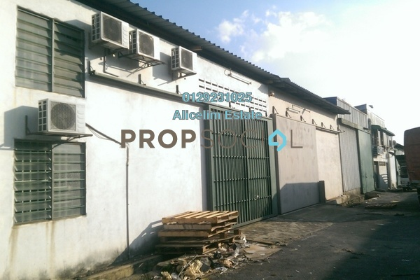 For Rent Factory at TSB Commercial Centre, Sungai Buloh Freehold Semi Furnished 0R/1B 5.5k