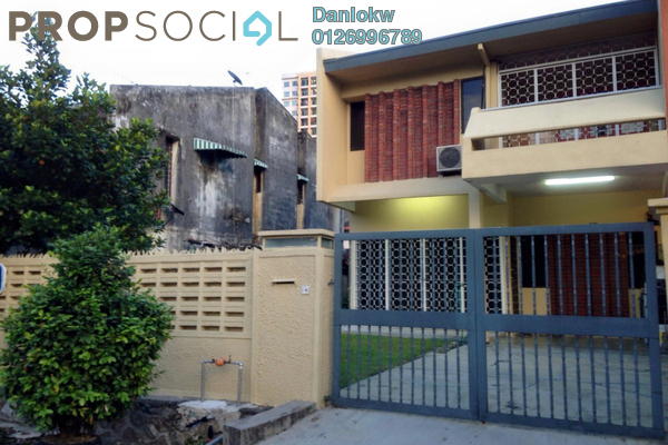 For Sale Semi-Detached at Taman Connaught, Cheras Leasehold Semi Furnished 4R/3B 850k