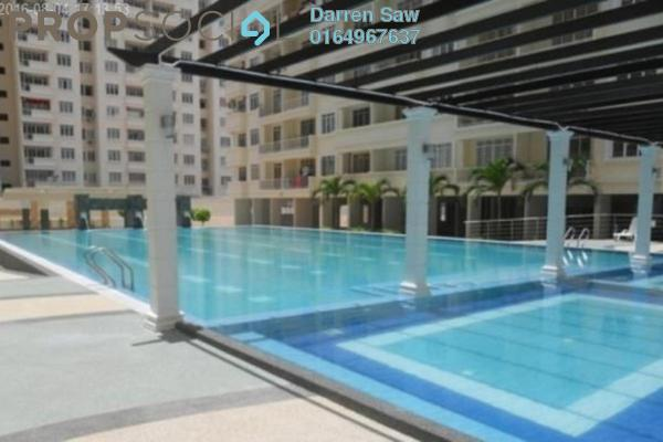 For Rent Condominium at D'Piazza Condominium, Bayan Baru Freehold Unfurnished 3R/2B 1.7千