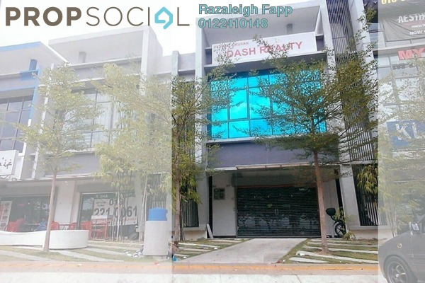 For Sale Shop at E-Boulevard, Denai Alam Freehold Unfurnished 0R/0B 2.5m