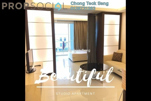 For Rent Serviced Residence at Plaza Damas 3, Sri Hartamas Freehold Fully Furnished 0R/1B 2k