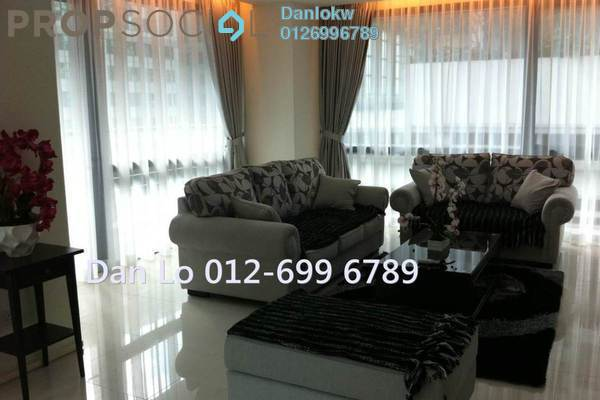 For Sale Condominium at Hampshire Place, KLCC Freehold Fully Furnished 2R/2B 1.68m